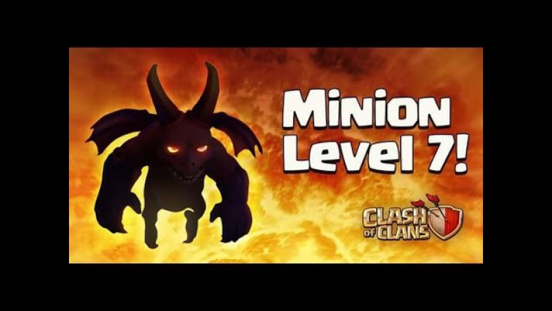 Новый Миньон (муха) 7-ого Уровня! Обновления Clash of clans