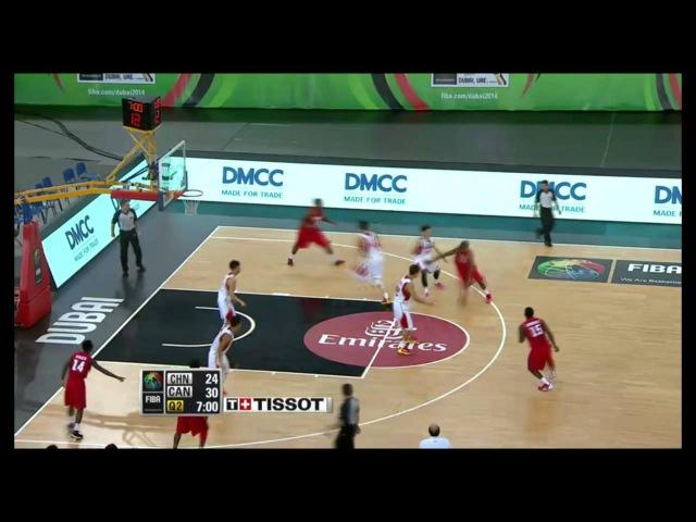 Zhao Yanhao 赵岩昊 FIBA U17 Playmaking Steals Defense 2 2