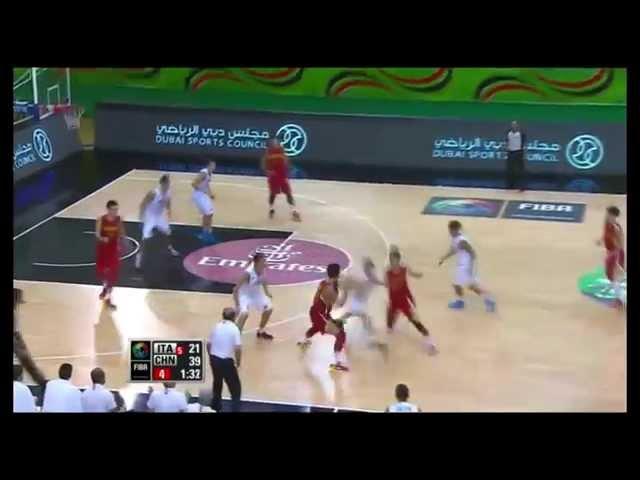 Zhao Yanhao 赵岩昊 FIBA U17 Shooting Driving Off Ball 1 2