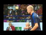 Angry moments in Table tennis