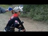 12-летняя девочка с подготовкой бойца спецназа