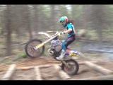 How to ride through a matrix endurocross training
