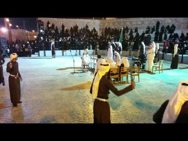 Танец Арда. Al Ardha - The sword dance of Saudi arabia