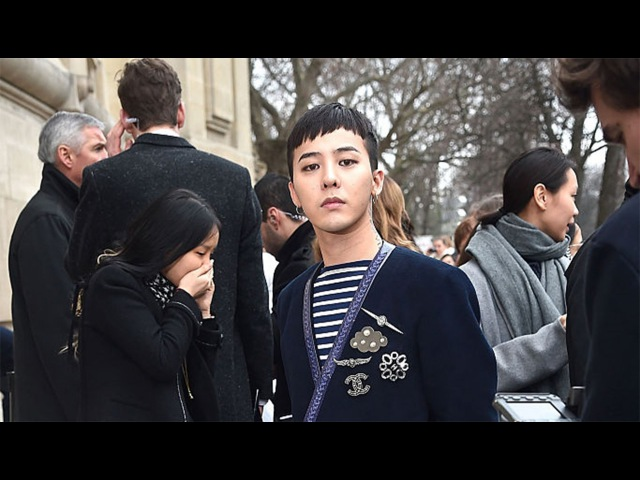 G-DRAGON (지드래곤) GD「DEPARTURE」2/2 @ CHANEL FASHION SHOW IN PARIS by MinVIPELF ®「MAIGANE 」2016 160126