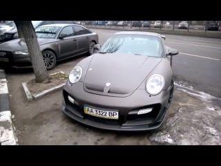 Amazing Porsche 997 Techart GT Street R MKII in Kharkiv (Ukraine)