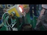 Индукционная печь на 8-10 кг расплава. (СЧ-25/10)