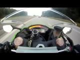Байкер на Kawasaki Ninja ZX-10R решил поганяться с заряженной Audi RS6 от ABT - Мотоциклы и мотоциклисты Yamaha Ktm Honda Suzuki