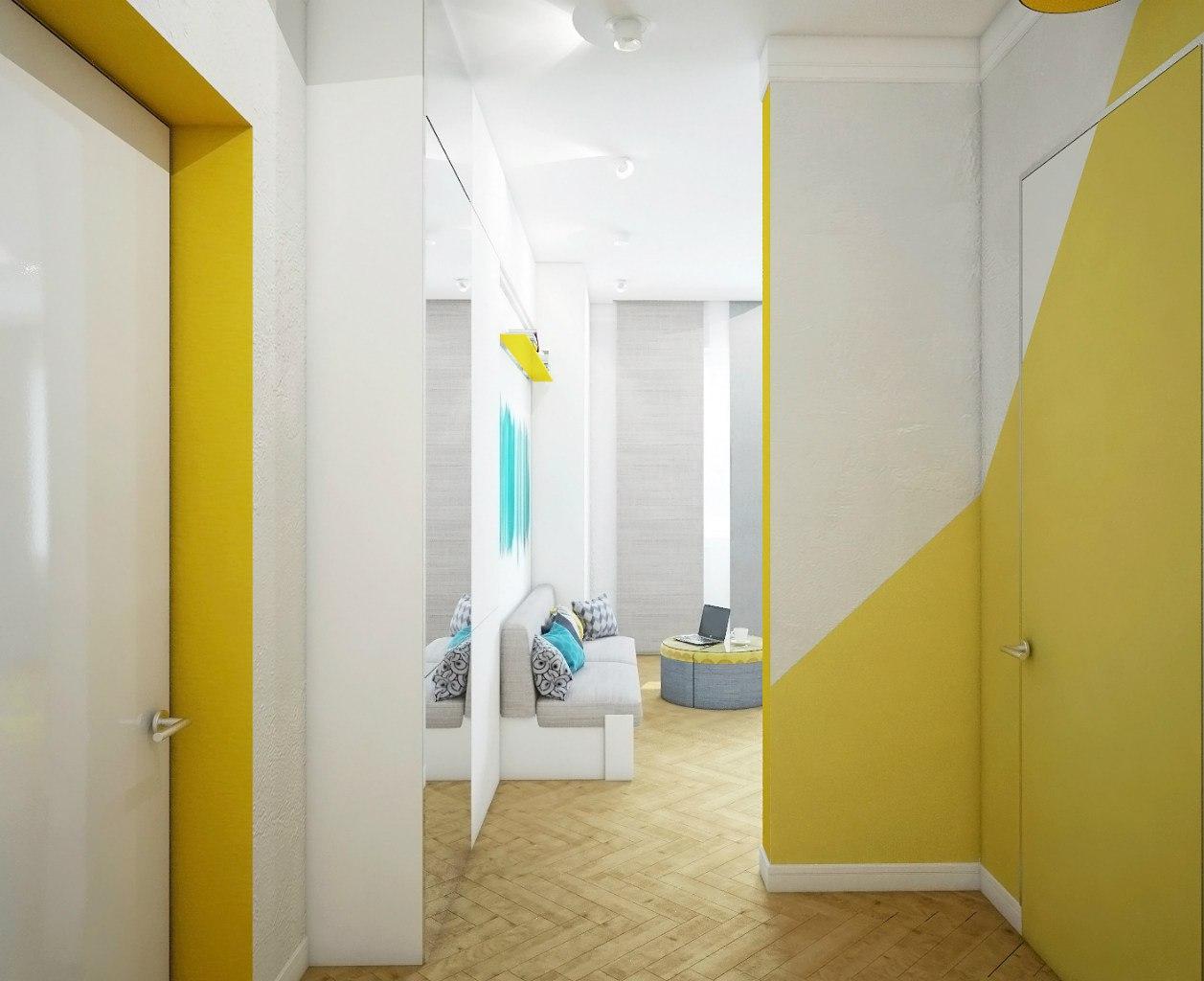 Концепт квартиры 24 м.