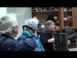 Народные частушки поют блатные старушки
