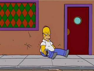 Пьяный гомер симпсон
