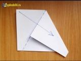 Как сложить бумагу для снежинки  How to fold paper snowflakes [Low, 360p]