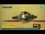 Известному мотогонщику Гаю Мартину покорилась «стена смерти»