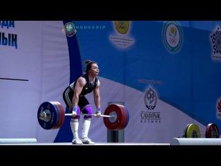 Svetlana Podobedova (~78) - 161kg Clean and Jerk