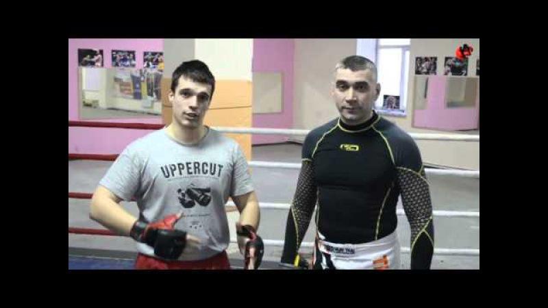 Защита в бою ММА и в драке на улице, блок, подставка, контратака - уроки ММА Олега Курохтина