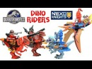 Nexo Knights Meets Jurassic World Ultimate Dino-Riders LEGO KnockOff Set