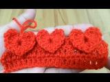 How to crochet heart stitch  !Crochet!