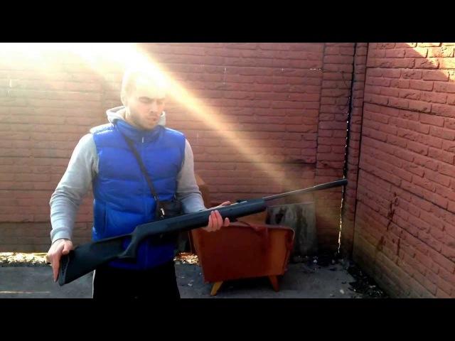 Тест пневматической винтовки Hatsan 125 TH 4,5мм