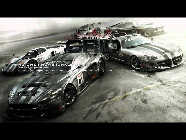 Race Driver: GRID Soundtrack - No One Knows by Queens of Stone Age (UNKLE Remix)