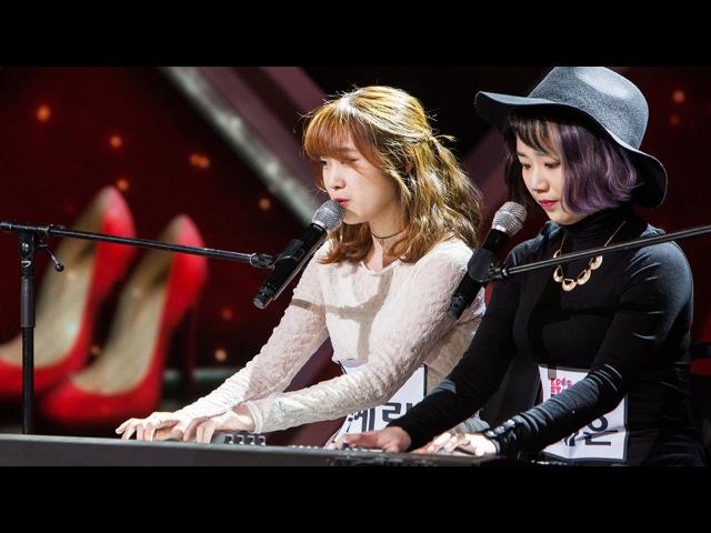 Woo Ye Rin Ahn Ye Eun - The Red Shoes 우예린 안예은 - 분홍신《KPOP STAR 5》K팝스타5 EP11
