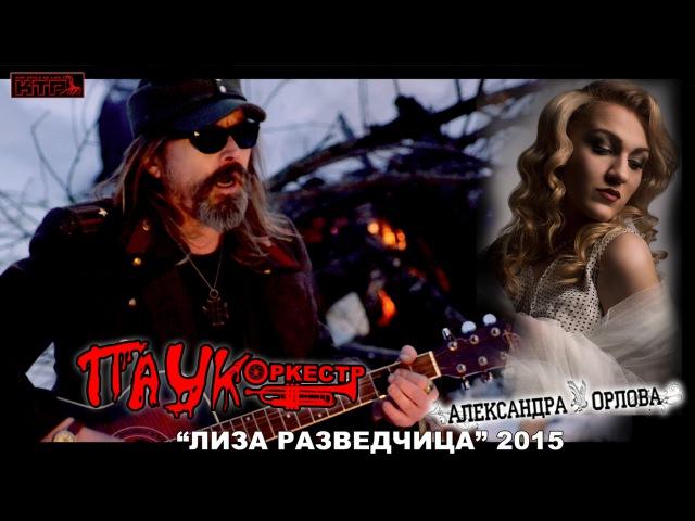ПАУК оркестр Александра Орлова - Лиза Разведчица 2015