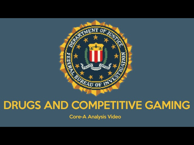 Analysis: Drugs and Competitive Gaming (eSports)