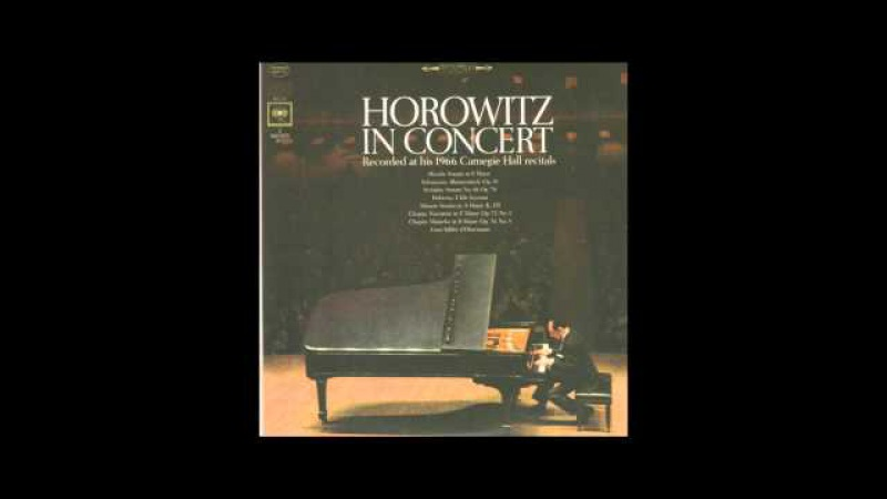 Horowitz in Concert - 1966 (soundtrack) (Mozart Sonata No. 11 K. 331 alla turca)