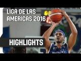 Bauru (BRA) v Malvin (URU) - Game Highlights - Semifinal #1 - Liga de las Americas 2016