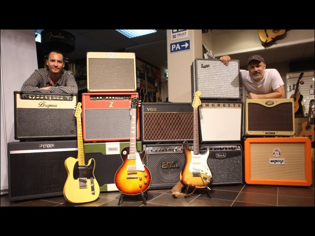 12 Guitar Combos FULL VOLUME Comparison with LP STRAT and TELE!