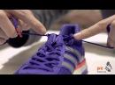 How to tie a heel lock (Racer's Loop) for a running shoe
