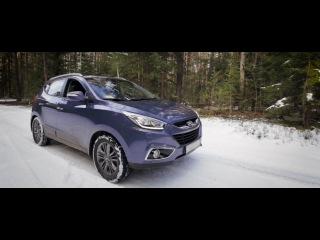 Тест-драйв Hyundai ix35. Часть 2. Бездорожье.
