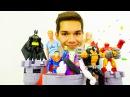 Игры для мальчиков. Супергерои против Злодеев! Джокер похитил Барби! Видео игру ...