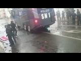 В Лейпциге правые и левые превратили демонстрации в беспорядки