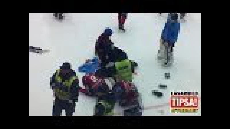 20 самых страшных травм полученных во время хоккея с шайбой. ч.2 Все обо всем