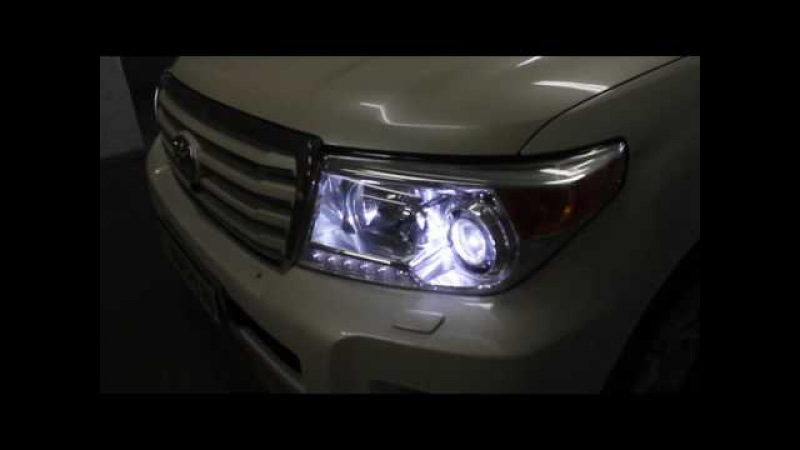 Toyota Land Cruiser 200bi-led koito philips H11