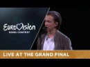 LIVE Frans If I Were Sorry Sweden at the Grand Final 2016 Eurovision Song Contest
