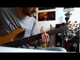 Deathspell Omega - Fiery Serpents bass cover