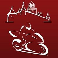 Логотип МотоПсков: программа помощи на дорогах