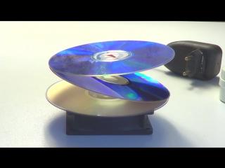 Как сделать иллюзию CD своими руками _ How to make an optical illusion of spinning disks