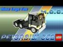 Lego MOC 63 Peterbilt 352 - Лего самоделка Питербилт 352