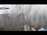 Боевики РФ из танков разрушают дома украинцев в Углегорске