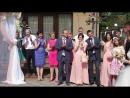 Безумно щасливі та закохані Любов та Назарій Ведуча їхнього весілля