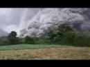Извержение вулкана Синабунг (Индонезия)