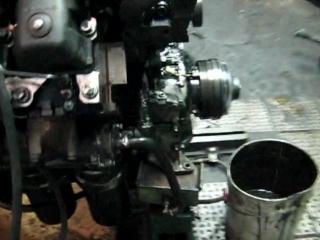 Пуск двигателя КамАЗ после капитального ремонта в условиях авторемонтного завода