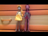 stop motion monster high/ love in the big city