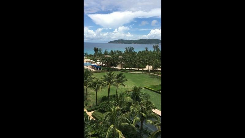 The Ritz-Carlton,Sanya Yalong Bay🌴🌤🌊