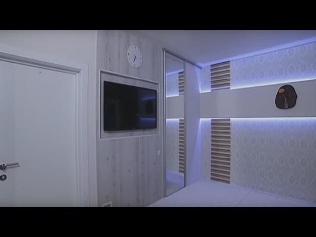 Ремонт в маленькой спальне в стиле минимализм