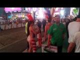 Путешествие по США: Таймс-Сквер. На жестовом языке, с субтитрами