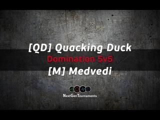 [QD] Quacking Duck vs [M] Medvedi / Лига NGT / BF4 / PS4