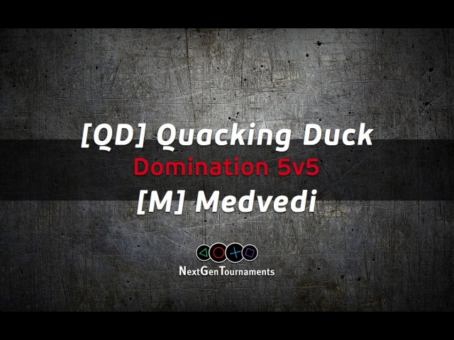 [QD] Quacking Duck vs [M] Medvedi / Лига NGT / BF4 / PS4