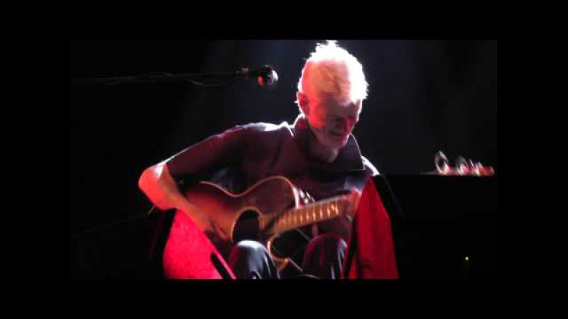 Peter Hammill Roxy,Prague 24-10-2012 Complete guitar set